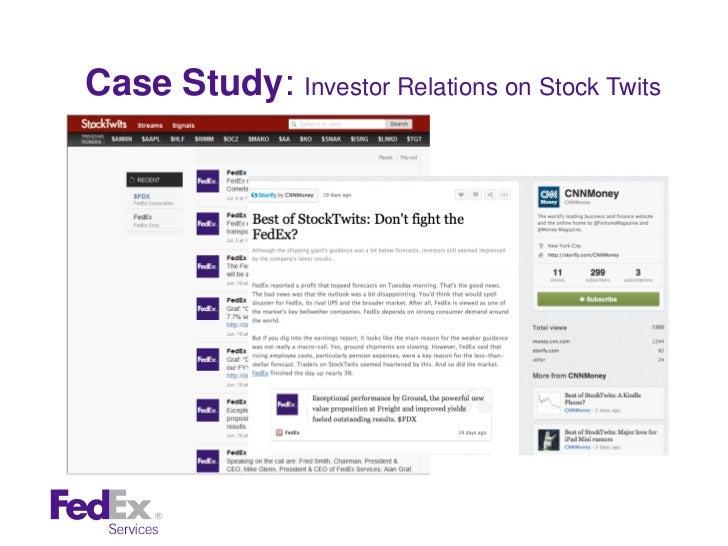 fedex case study