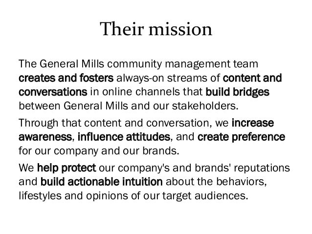 accounting case study on general mills Accounting case study on general mills general mills, inc financial accounting case study module 1: a general mills consolidated statements of earnings: 1 the recorded the recorded 1,405 words | 6 pages.