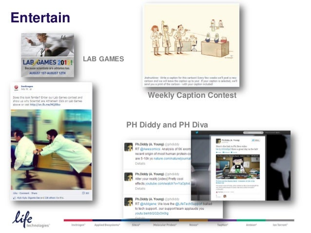 Entertain            LAB GAMES                             Weekly Caption Contest                        PH Diddy and PH D...