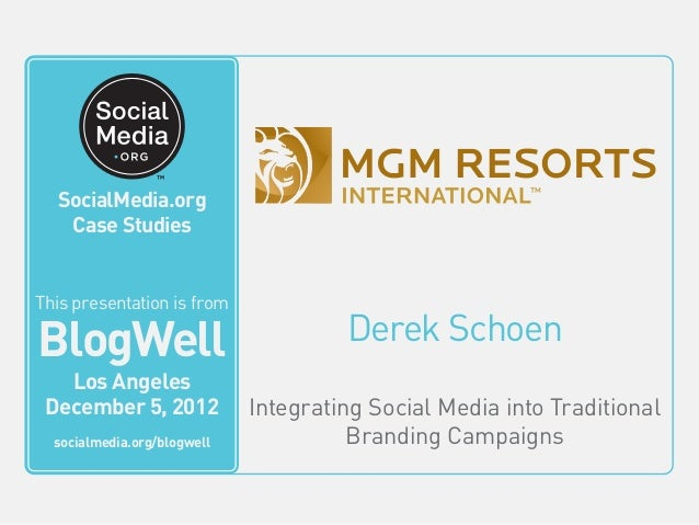 mgm resorts international case study Mgm resorts international uses the cisco intelligent wi-fi network to enhance and personalize guest experiences through mobility.