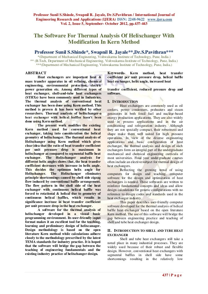 Professor Sunil S.Shinde, Swapnil R. Jayale, Dr.S.Pavithran / International Journal of      Engineering Research and Appli...
