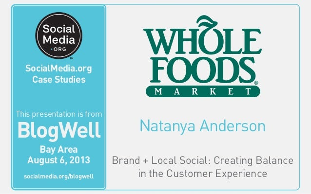 Natanya Anderson Brand + Local Social: Creating Balance in the Customer Experience This video is from BlogWell San Francis...
