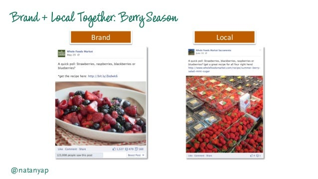 Brand +Local Together:BerrySeason @natanyap Brand   Local