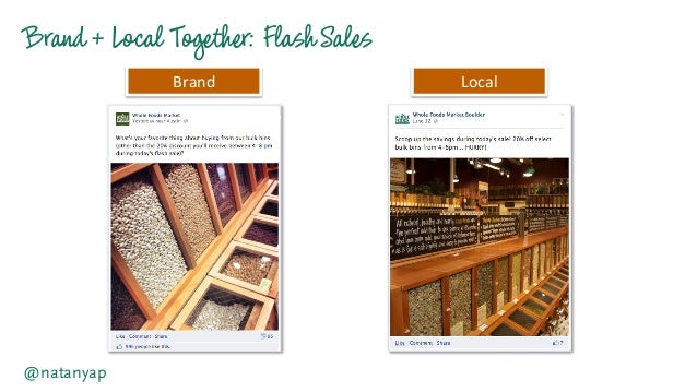 Brand +Local Together:FlashSales @natanyap Brand   Local