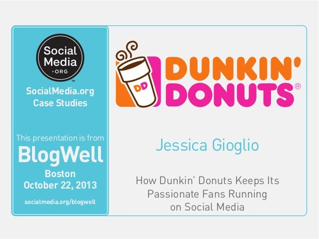 case analysis on dunkin donuts Dunkin' brands company profile - swot analysis: dunkin' brands group competes in global fast food through its two brands, dunkin' donuts (bakery.