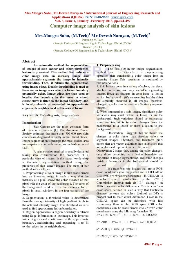 Mrs.Mongra Sahu, Mr.Devesh Narayan / International Journal of Engineering Research and                Applications (IJERA)...