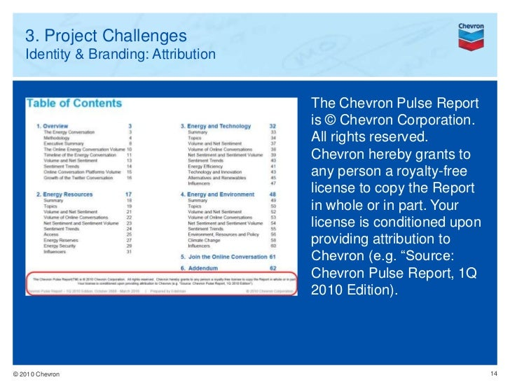 Chevron Case Study