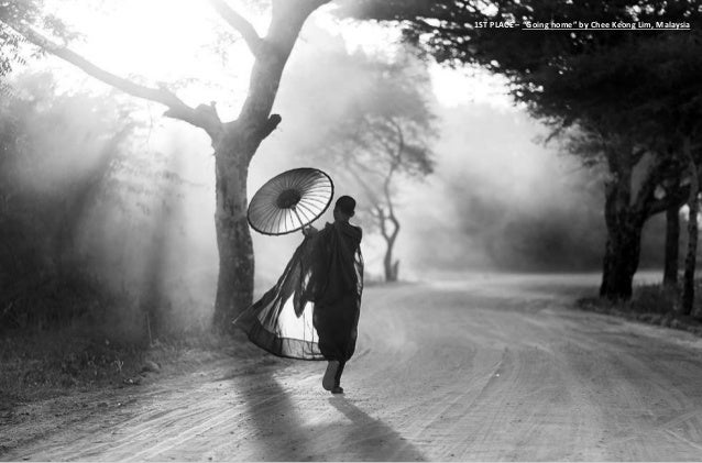 """1ST PLACE – """"Going home"""" by Chee Keong Lim, Malaysia"""