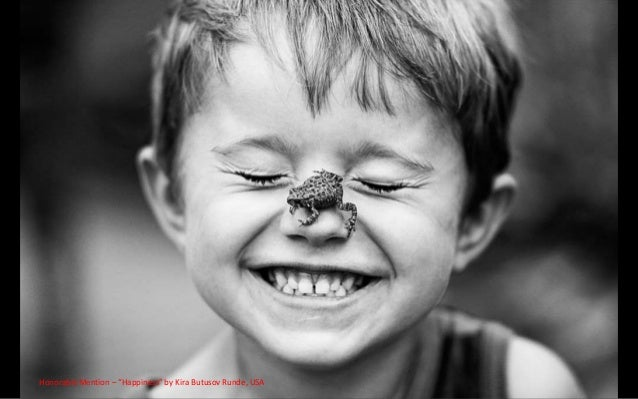 """Honorable Mention – """"Happiness"""" by Kira Butusov Runde, USA"""
