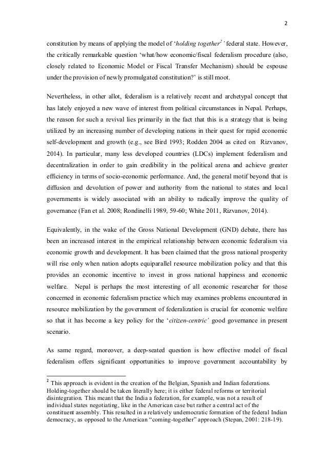 Federalism in Nepal