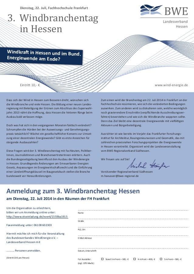 Um die Organisation zu erleichtern, bitten wir um Anmeldung online unter: http://www.otseinladung.de/event/1559ba1915 Faxa...