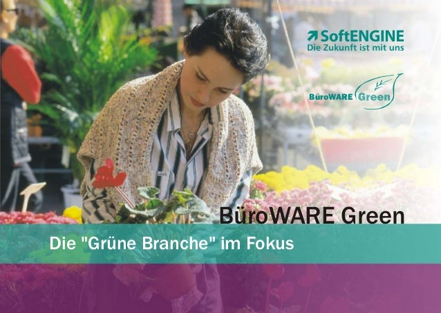 "BüroWARE  BüroWARE Green Die ""Grüne Branche"" im Fokus"