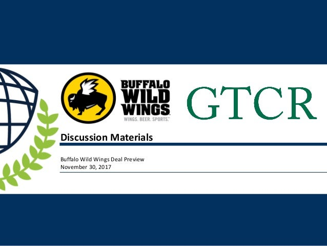 Gtcr Private Equity Buffalo Wild Wings
