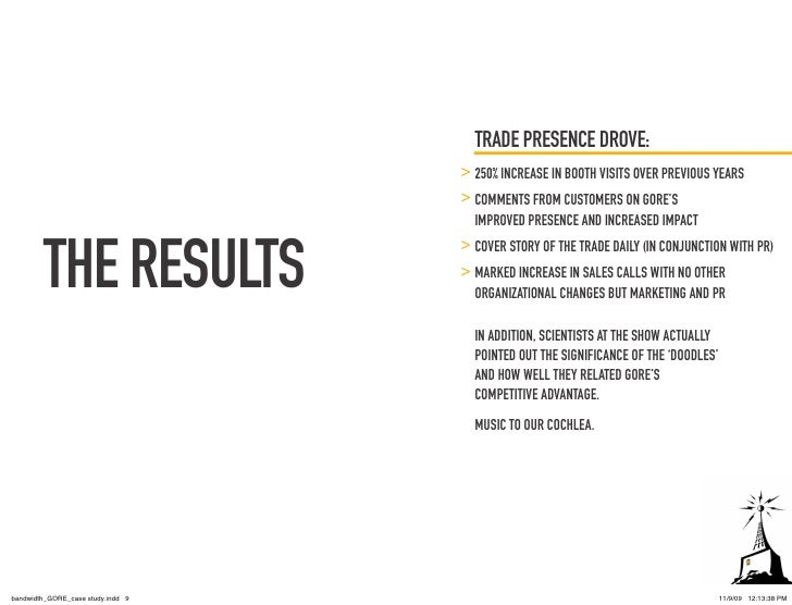 gore tex case study Case study  the gore-tex brand after the patent expired what activity can firms use to try to maintain any advantage developed during the patent protection phase.