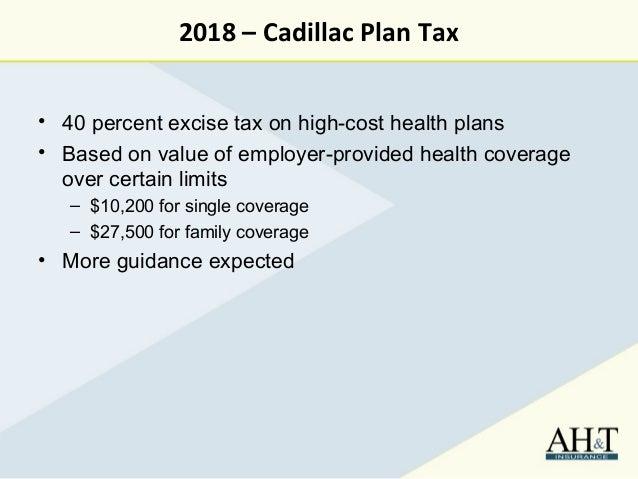 Insurance Plan Cadillac Insurance Plan Tax