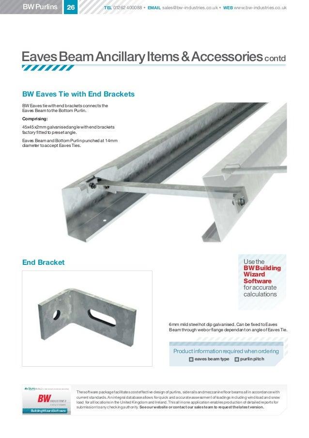BW Industries : Steel Roof Purlins