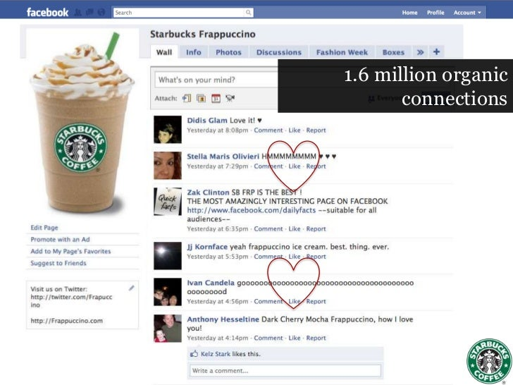 starbucks social media case study