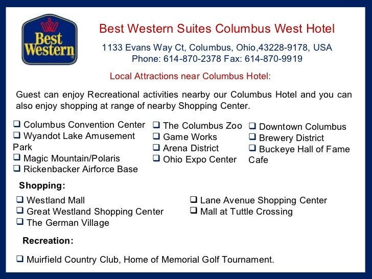Best Western Suites Columbus West Hotel
