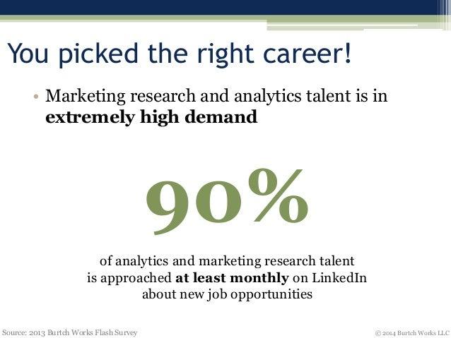 Burtch Worksu0027 Top Career Tips For Analytics U0026 Marketing Research  Professionals
