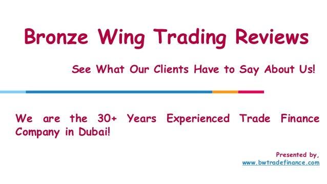 bronze wing trading reviews feedbacks trade finance providers in dubai 1 638