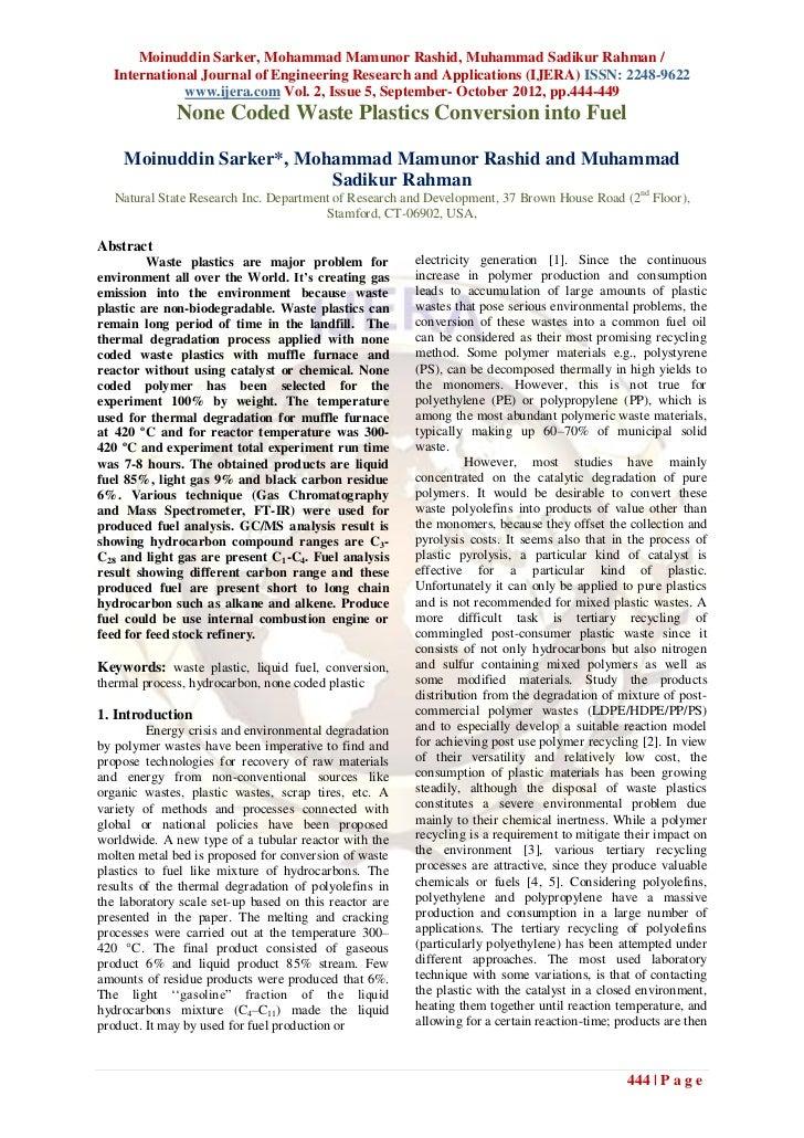 Moinuddin Sarker, Mohammad Mamunor Rashid, Muhammad Sadikur Rahman /  International Journal of Engineering Research and Ap...