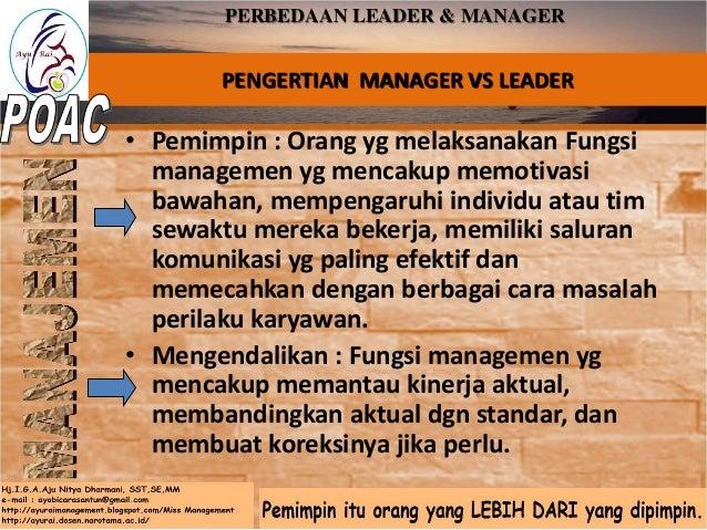 LEADER DAN FOLOWER LEADERSHIP DAN FOLOWERSHIP 1. KETIDAK ADILAN SEBUAH PERSEPSI 2. FOLLOWER BUKAN SEKEDAR SUMBERDAYA ORGAN...