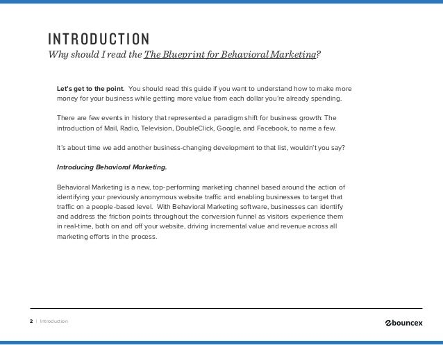 Blueprint to behavioral marketing malvernweather Image collections