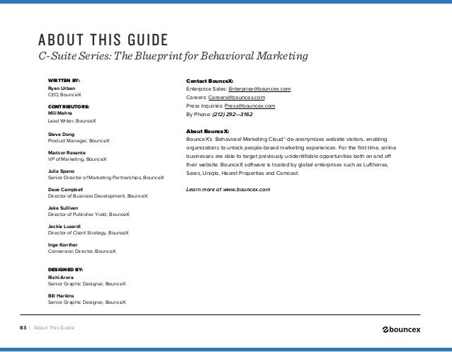 Blueprint to behavioral marketing 83 malvernweather Gallery