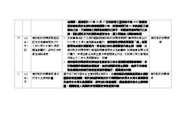 准展限,經濟部於 95 年 10 月 27 日所核發之臺濟採字第 4983 號經濟 部採礦執照將北原的礦業權展限十年,核發時間已在 92 年新修訂之礦 業法之後,又礦業權之展限是新權利之賦予,即應適用當時現行之法 律,因此顯見本次的展限為違背法...