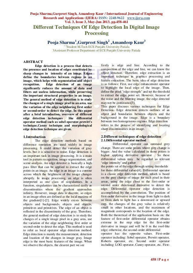 Pooja Sharma,Gurpreet Singh, Amandeep Kaur / International Journal of EngineeringResearch and Applications (IJERA) ISSN: 2...