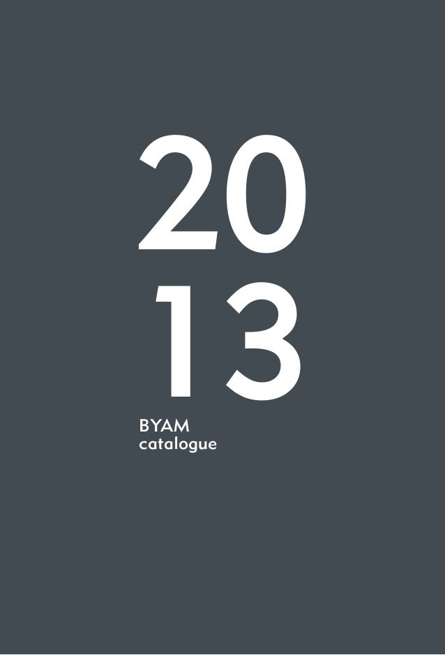 1 20 13BYAM catalogue
