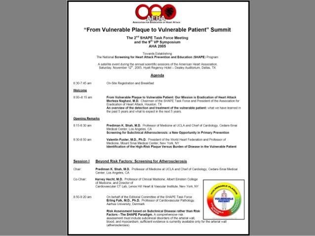 Circulation. VP Consensus Document. 2003 Oct 7;108:1664-72Circulation. VP Consensus Document. 2003 Oct 7;108:1664-72