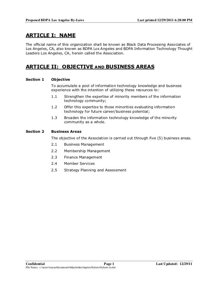 Proposed BDPA Los Angeles By-Laws                                             Last printed 12/29/2011 6:28:00 PMARTICLE I:...