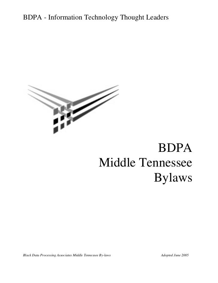 BDPA - Information Technology Thought Leaders                                                           BDPA              ...