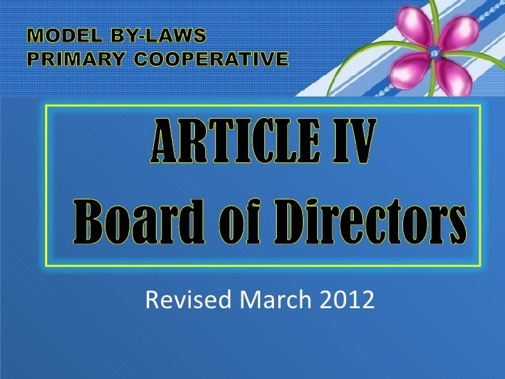 Revised March 2012