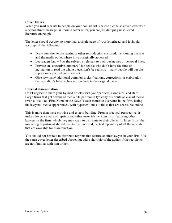Cover letter legal editor