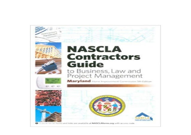 Detail Book Title : By NASCLA Maryland Contractors Guide to Business Law and Project Management 5th Edition Spiralbound Fo...