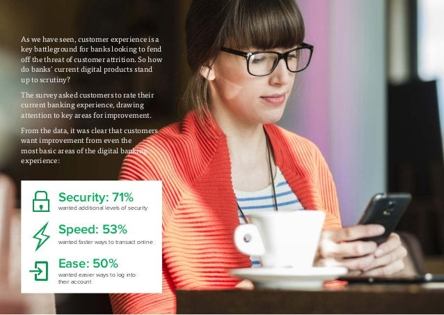 11 As we have seen, customer experience is a key battleground for banks looking to fend off the threat of customer attriti...