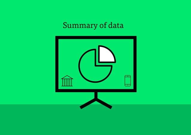 30 Summary of data