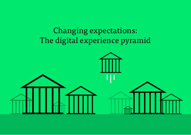 8 Changing expectations: The digital experience pyramid