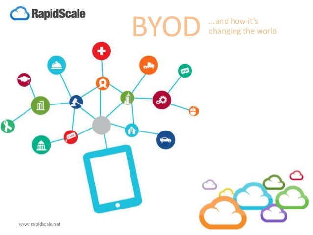 BYOD …and how it's changing the world www.rapidscale.net