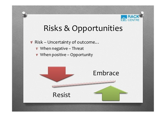 opportunities risks