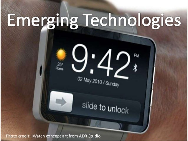 Emerging TechnologiesFrom CNET.com