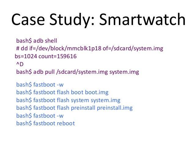 WearablesCase Study: Smartwatch