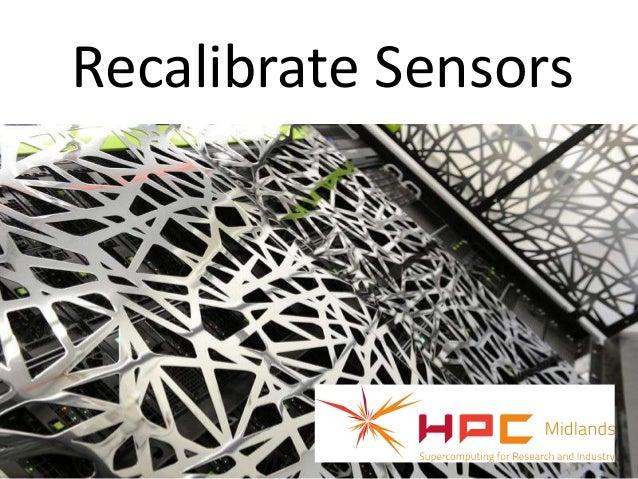 Recalibrate SensorsArticle credit: edudemic.com