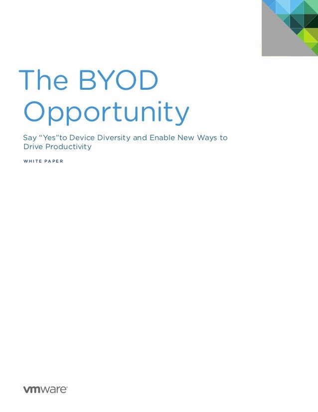 VMware: The BYOD Opportunity