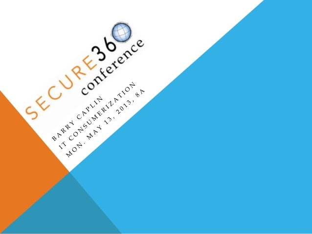 WELCOME TO SECURE360 2013 Don't forget to pick up your Certificate ofAttendance at the end of each day. Please complete ...