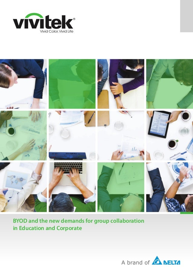 BYOD and the new demands for group collaboration in Education and Corporate