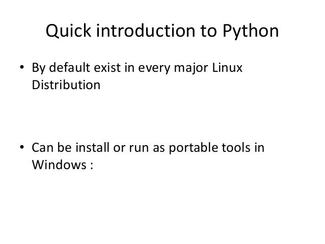Common technique in Bypassing Stuff in Python. Slide 2