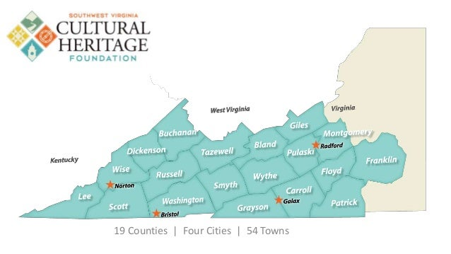 19 Counties | Four Cities | 54 Towns